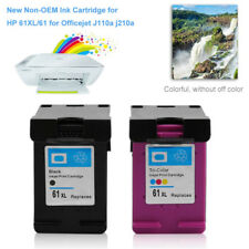 2Pack 61XL Black Color Ink cartridge For HP HP61/ HP61XLBK/ HP61XLBK/ HP61XLC AB