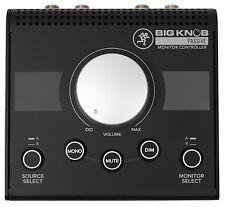 New Mackie Big Knob Passive 2x2 Studio Monitor Controller