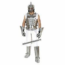 New Roman Muscle Breast Plate Medieval Armor Set Cuirass LARP