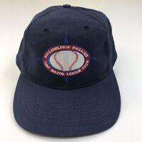 VINTAGE Philadelphia Phillies MLB Baseball Hat Cap Strap Back Toyota Mens 1997