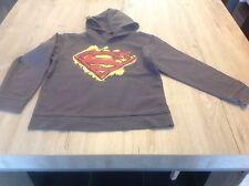 Pull à capuche Superman Taille : 7 - 8 ans