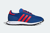 adidas Originals Racing 1 Trainers in Blue and Red