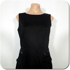 CALVIN KLEIN Woman's Black Sheath Sleeveless Dress, size 4