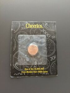 2000P USA Small Cent UNCIRCULATED