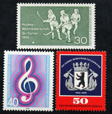 Sello BERLIN (ALEMANIA) 3 sellos de 1976 n (Cyn28) Stamp