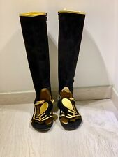 Prada Fairy Tail Collection SS08 sandals boots knee high