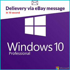 Microsoft WINDOWS 10 PRO PROFESSIONAL 32 /64 BIT Genuine ACTIVATION LICENSE KEY