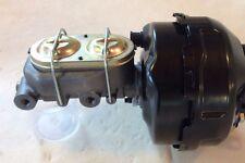 "Jeep CJ5 CJ7 9"" dual power brake booster 1 1/8"" bore master cylinder"