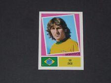 N°30 ZICO PELE BLANC BRESIL AGEDUCATIFS FOOTBALL ARGENTINA 78 WM 1978 PANINI