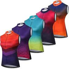 Women's Cycling Vest Top Ladies Summer Sleeveless Bike Cycle Jersey Shirts S-5XL