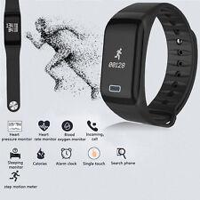 Smart Watch Pulsuhr Blutdruck Sport Fitness Tracker Schrittzähler Heart Rate Uhr