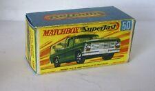 Repro Box Matchbox Superfast Nr.50 Kennel Truck