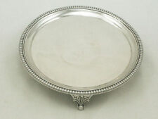 Antique Solid Silver Salvers