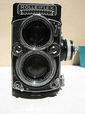 Rolleiflex 2.8e Twin lens reflex camera - medium format - Carl Zeiss Planar