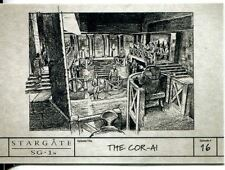 Stargate SG1 Season 9 Production Sketches Chase Card S17