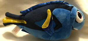 """Ty Disney Dory Finding Nemo Beanie Babies Finding Dory Blue Tang Dory 9"""""""
