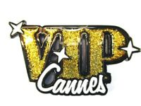 Magnet VIP Cannes Côte d' Azur Metall,Souvenir Frankreich France,Neu.*
