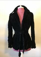 womens black velvet jacket Beautiful Condition