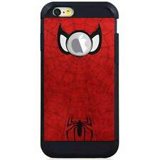 Apple iPod Touch 5/6 5th/6th Gen. Hybrid Case Cover Spiderman Minimal Red