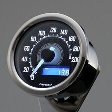 DAYTONA Velona Speedometer 200 km/h Buff Body/White Led
