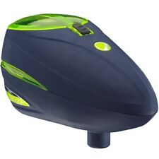 Dye Rotor R-2 Paintball Loader (Navy / Lime Green)