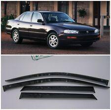 For Toyota Camry Sd 1994-1998 Side Window Visors Sun Rain Guard Vent Deflectors
