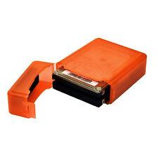 ABS 2.5 in (environ 6.35 cm) Disque Dur SATA IDE Boîtier De Disque Dur Boîte à Double Couche Coque Orange