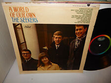 THE SEEKERS A World Of Our Own Capitol T 2369 Mono 1965 Folk Psych LP