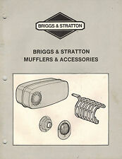 Briggs/ Stratton Mufflers Accessories Manual