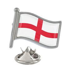England Wavy Flag Pin Badge English St George Cross British UK New & Exclusive