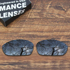 T.A.N Polarized Replacement Lenses for-Oakley Straight Jacket 2007 Black Iridium