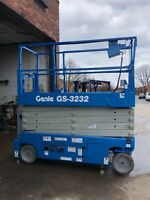 2016 GENIE GS-3232 ELECTRIC SCISSOR LIFT FULLY REFURBISHED!!! EXCELLENT!!!!!