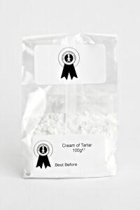 cream of tartar for making play dough Grade A premium quality 100g