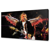 Kurt Cobain Music Icon canvas print picture wall art free fast delivery
