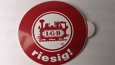 Original LGB 8.5 cm Diameter Window Sticker 07 - riesig ! (PL)