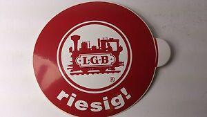 * Original LGB 8.5 cm Diameter Window Sticker 07 - riesig !