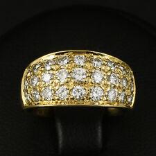 Designer Brillant Ring mit ca. 1,10 ct. 750/- Gelbgold