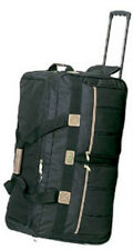 """3 Large  25"""" Rolling Wheeled Duffel Bags Luggage 8385 Green Color Free Shipping"""