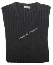 Pull LC noir Homme taille 5XL grande taille gilet waistcoat black king size NEUF