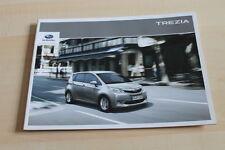 129237) Subaru Trezia Prospekt 01/2012