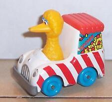 Vintage 1983 Playskool Sesame Street Big Bird Figure in Die Cast car VHTF Rare