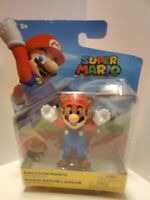 World of Nintendo 4-Inch Action Figure - Racoon Mario...NIB