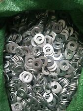 Stainless Steel Washers M3 M4 M5 M6 M8 M10 Metric Flat Screw Silver Steel