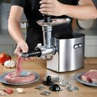 CHEFFANO AZ-MG091, Stainless Steel Mincer,Electric Meat Grinder, Sausage Stuffer photo
