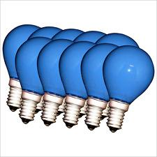Tropfen Lampe 15 Watt orange 15W E27-10 x farbige Qual bunte Glühbirnen