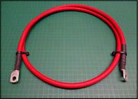 Photovoltaik Batteriekabel kupfer Rot 35mm² Auto Befestigungsbohrung M8 H07VK 1m