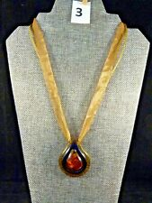 Italian Glass Pendant Necklace