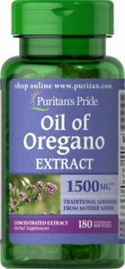 Puritan's Pride Oil of Oregano Extract 1500 mg - 180 Softgels