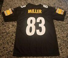 Heath Miller Pittsburgh Steelers Jersey Youth Medium Reebok NFL