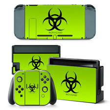Nintendo Switch Skin Design Foils Aufkleber Schutzfolie Set - Biohazard Motiv